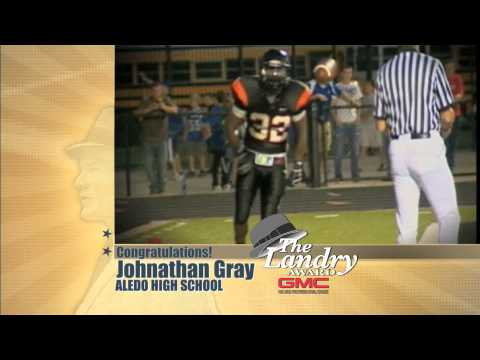 Landry Award Winner 2010 Johnathan Gray