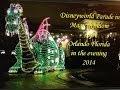 Disney Parade Magic Kingdom in the evening Orlando Florida 2014