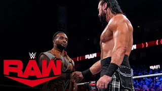 Drew McIntyre challenges Big E to a WWE Championship Match Raw Oct 4 2021