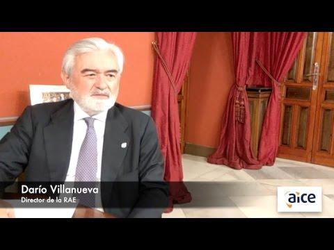 Entrevista de AICE al director de la Real Academia Española.