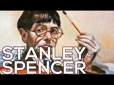 Stanley Spencer: A collection of 210 paintings (HD)