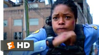 Black and Blue (2019) - Hunted by the Cops Scene (2/10) | Movieclips