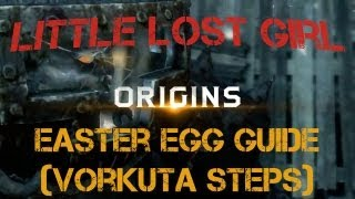 Origins Little Lost Girl Achievement and Easter Egg Compilation - The Steps of Vorkuta