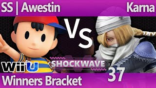 SW 37 Wii U - SS | Awestin (Ness) vs Karna (Sheik) - Winners Bracket