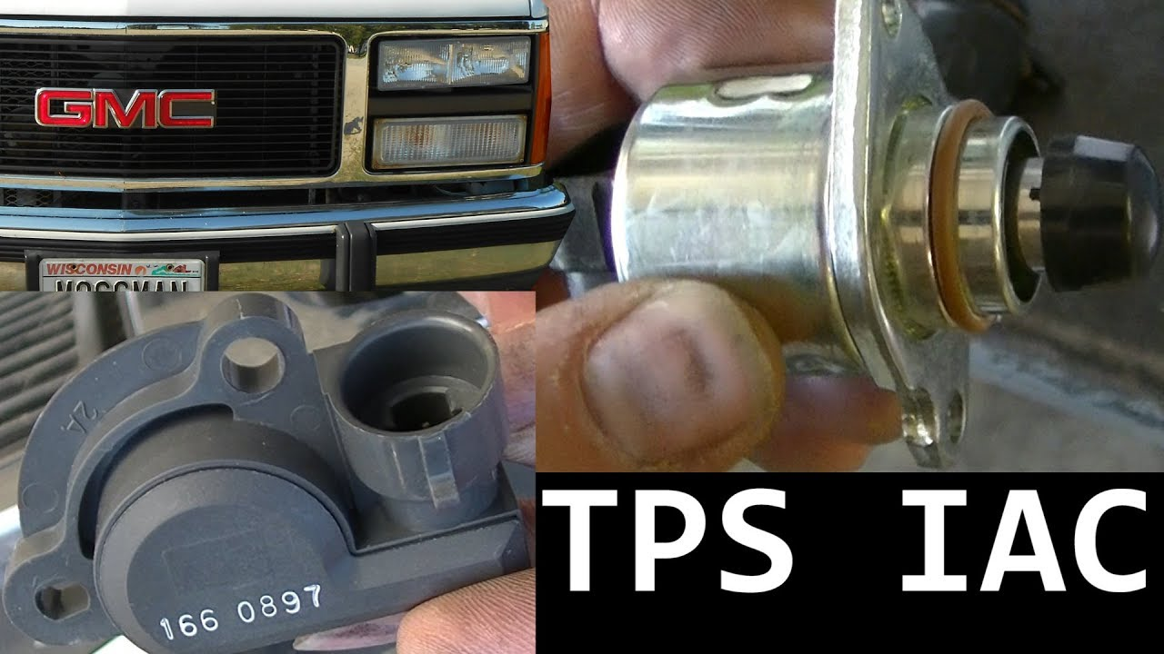 medium resolution of 91 gmc c3500 tps and iac replacement high idle
