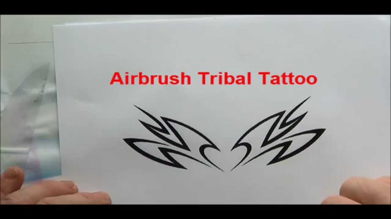 Airbrush Tattoo Schablonen