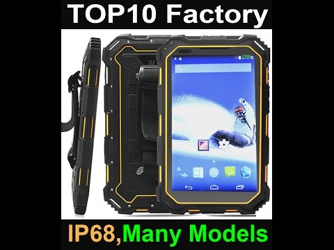 Highton IP68 Rugged Waterproof Embedded pc computer Industrial tablet pc computer