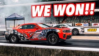 We Drove 700 MILES To Drag Race At Camaro Fest And WON!!