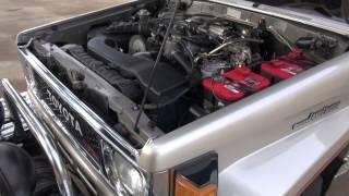 1988 toyota land cruiser bj74 13bt engine