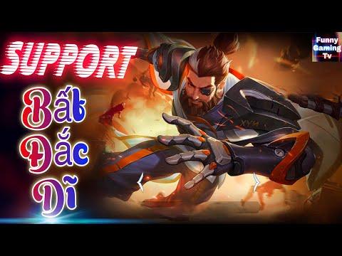 LIÊN QUÂN | Support BẤT ĐẮC DĨ mang tên Ryoma Chiến Binh Cyborg