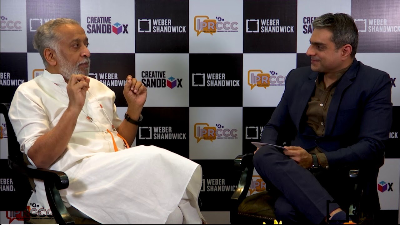 Creative Sandbox - In discussion with Mr. DILIP CHERIAN
