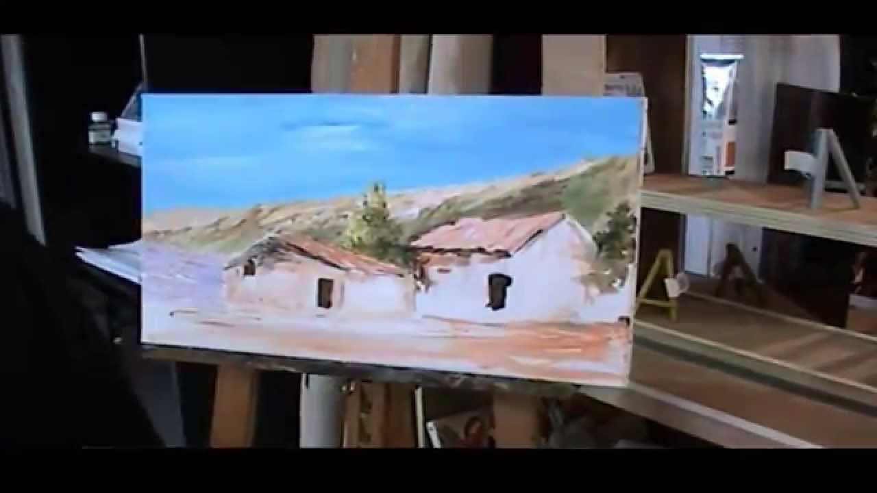 Démonstration Et Initiation De Peinture Acrylique Par Gérard