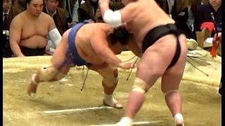 本日の注目の一番。関脇 琴奨菊が10番勝てば来場所大関に復帰です。13日...