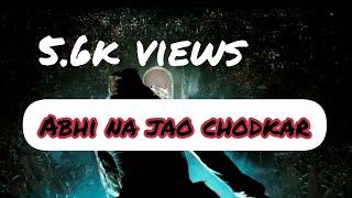 Abhi na jao chodkar - Hum Dono(1961) acoustic cover by Anamisharan