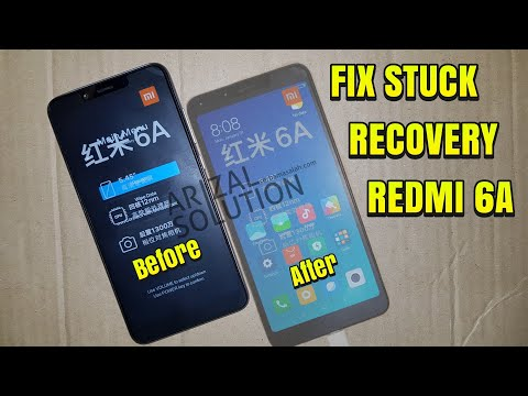 Xiaomi Redmi 6A Cactus Stuck Bootloop Mi-Recovery (Flashing/Install