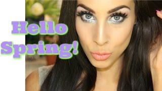 Hello Spring   Makeup Tutorial