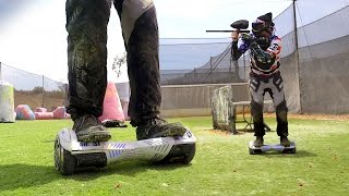 Hoverboard Paintball!!!