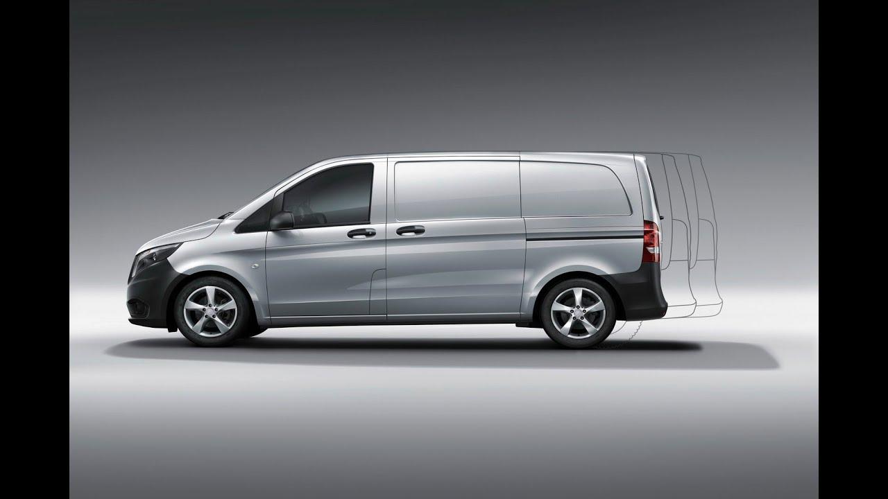 Mercedes Mini Van >> 2015 Mercedes-Benz Vito Exterior (27 Photos) - YouTube