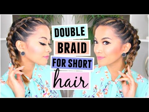 How To French Braid For Short Hair Hairstyle