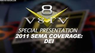 2011 SEMA Video Coverage - Design Engineering Inc. DEI V8TV