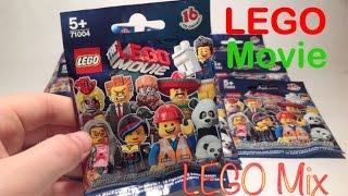 Открываем Lego минифигурки серии