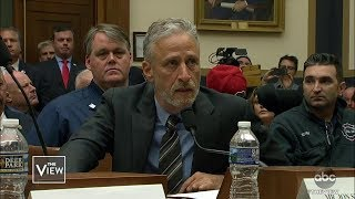 Jon Stewart Shames Congress Over 9/11 Fund | The View