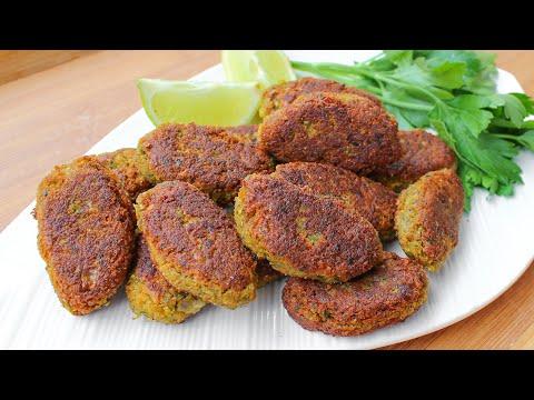 Red Lentil Kebab Recipe (Gluten-free & Vegan)   Vegan Kebab Recipe   Vegetable Kebab Recipe