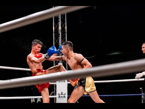 Vincent Seaw (Sharks Muay Thai) Vs Petchpantae Empire Gym (Laos National Team)