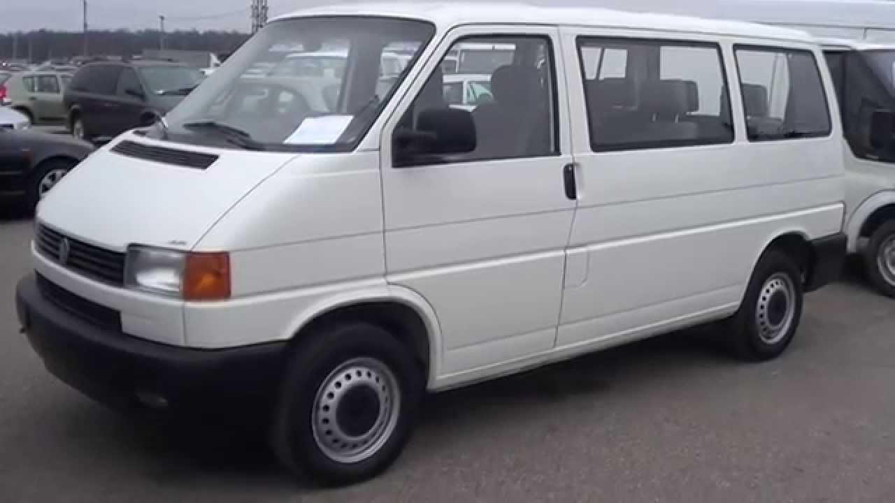 Фольксваген транспортер т4 1999 модели фольксваген транспортер с кузовом