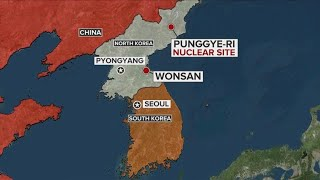 CBS News witnesses apparent demolition of North Korea nuclear test site