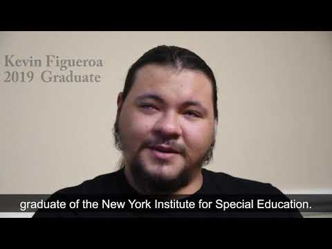 Kevin is an alumnus of The New York Institute for Special Education