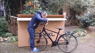 Fahrrad XXL Unboxing - Kalkhoff Voyager 21 / 2017 / 28 Zoll