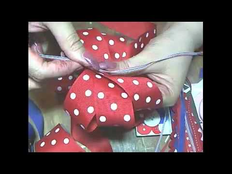 homecoming bow tutorial