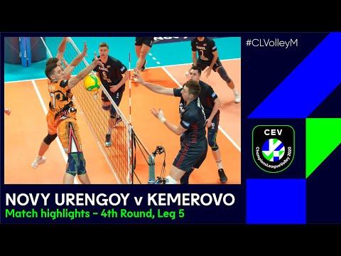 #CLVolleyM   Fakel NOVY URENGOY Vs. Kuzbass KEMEROVO - Match Highlights