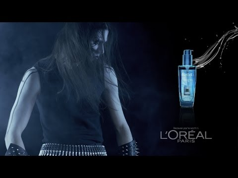 Ægre - Elvive L'Oreal Extraordinary Oils - Black Metal Shampoo