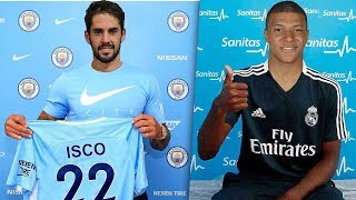 Confirmed & Rumours Winter Transfers 2019 ft. Isco, Mbappe, Eriksen |HD