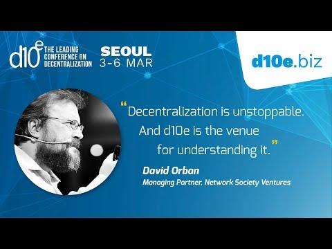 Redesign your business model around blockchain - d10e Seoul