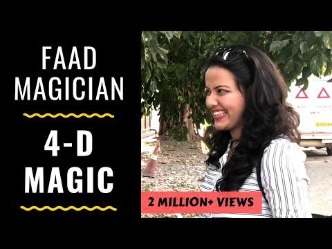 faad magician- 4d magic | rj abhinav