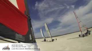 2015 WA State Land Sailing Titles - Lake Walyungup