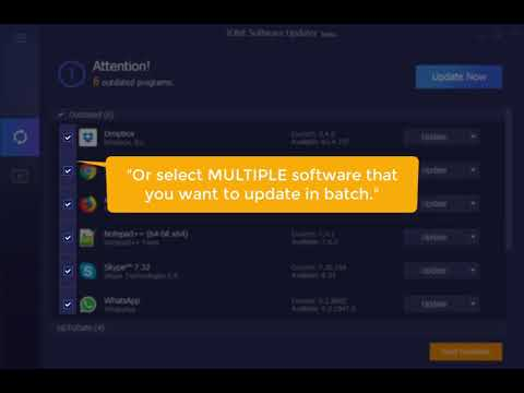 IObit Software Updater: How to Update Software for Windows PC Easily