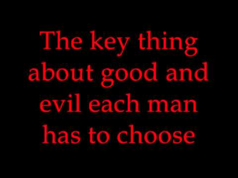 """Good 'N' Evil"" from Jekyll & Hyde karaoke/instrumental"