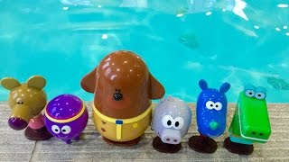 HEY DUGGEE TOYS Swimming Pool Fun!