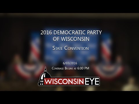 Democratic Party of Wisconsin State Convention - Day 1