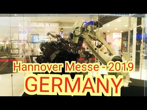 HANNOVER MESSE 2019  GERMANY  INDUSTRIAL FAIR   APRIL 2019 #SCHYTV