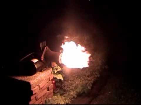Firing Up The Beckett Oil Burner - YouTube