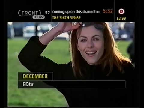 Front Row 52 - pre-movie countdown - December 2000