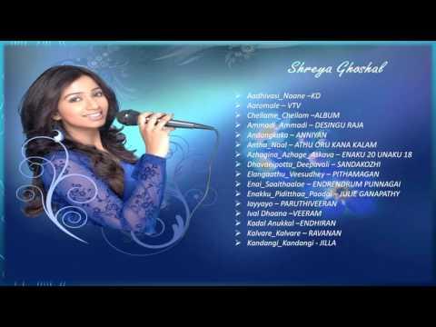 shreya ghosal part 1 tamil hit songs