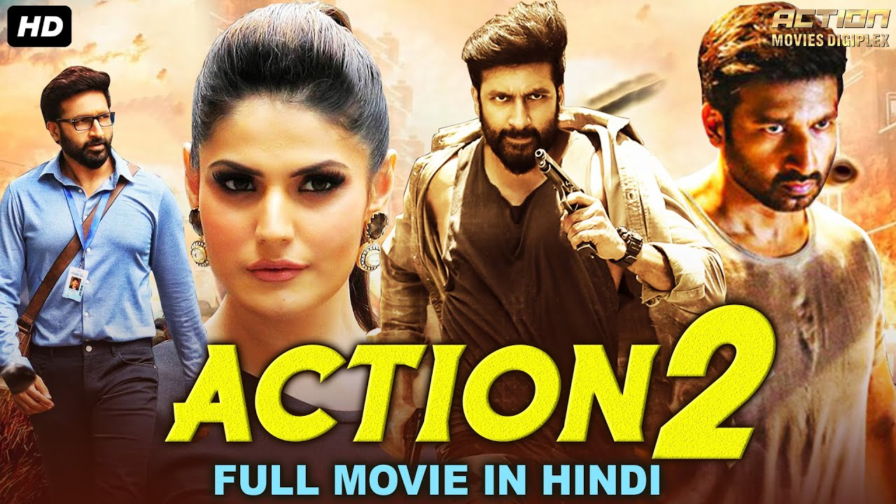 ACTION 2 - Hindi Dubbed Full Action Movie | Gopichand Movies In Hindi Dubbed | Mehreen Pirzada