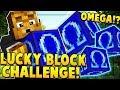 OMEGA LUCKY BLOCK CHALLENGE (TOWERS MINIGAME) | Minecraft - Lucky Block Mod