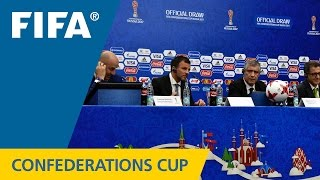 FIFA Confederations Cup Russia 2017 - Official Draw - Coaches Press Conference